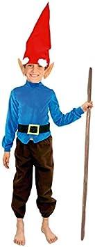 Disfraz de Enanito niño Infantil para Carnaval (10-12 años) (+ Tallas ...