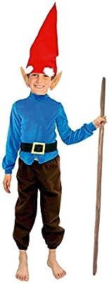 Disfraz de Enanito niño Infantil para Carnaval (7-9 años) (+ ...