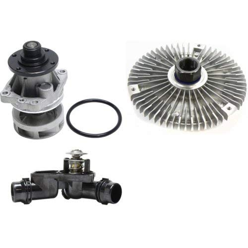 Water Pump Kit Compatible with BMW 525 325 323 328 330 528 530 E46 E90 325i E53 X5