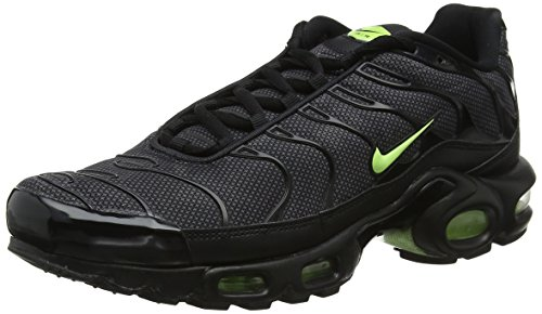 - Nike Air Max Plus SE Special Edition TN Sneaker Sport Shoes Black/Gray/neon Rarity, EU Shoe Size:EUR 44