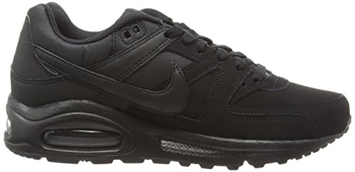 Nike Herren Air Max Command Leather Outdoor Fitnessschuhe Nero (003 Black)