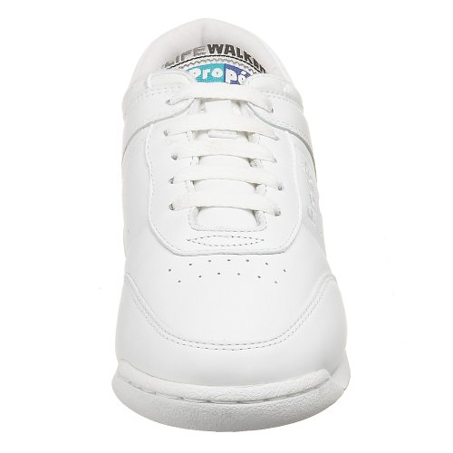 White Women's Propet W3804 Sneakers Life Shoes Leather Walker zqPw8q0