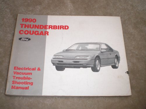 Cougar Vacuum (1990 Ford Thunderbird Cougar Electrical & Vacuum Manual)
