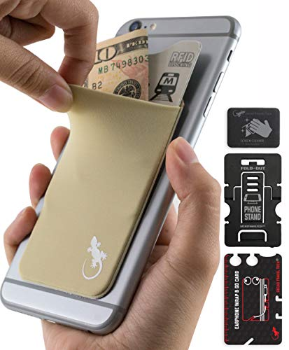 Beige Cell Phone - Beige Card Wallet - Woman Beige Pouch for Smartphone & iPhone - Cell Phone Pouch Pocket Carry Credit Cards and Cash - Beige