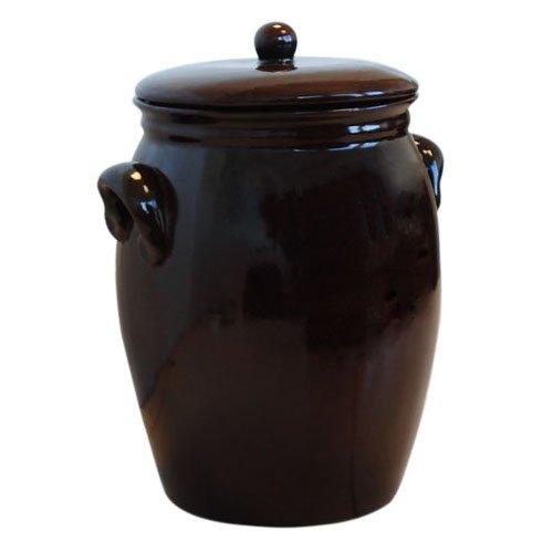 Original K&K Rumtopf 5,0 Liter - Form 2 / Mehrzwecktopf / Keramiktopf
