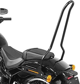 Sissybar Für Harley Davidson Fat Boy 114 18 21 Craftride Tampa Schwarz Auto