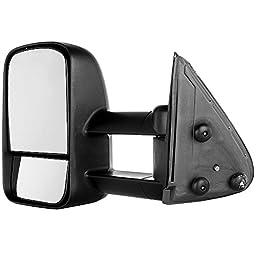 Scitoo 1999-2007 Chevy/GMC Silverado/Sierra Manual Telescoping Towing Mirror Pair