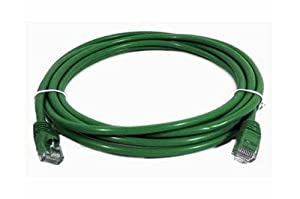 7' ft Foot Cat5e RJ45 Ethernet Network Cable - (GREEN) UTP Patch LAN Cord NEW
