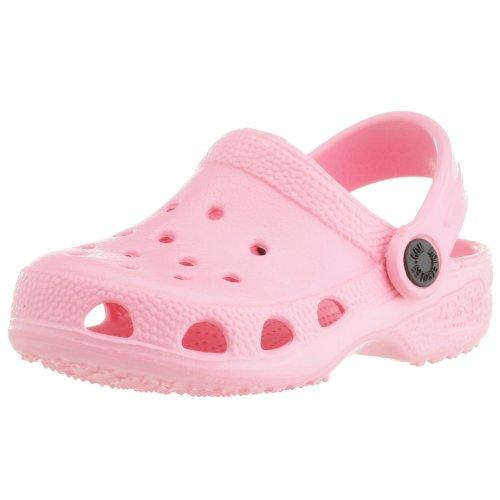Holey Soles - Zuecos para mujer rosa