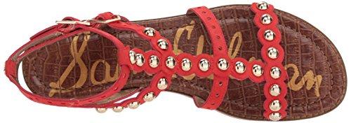 Women's Sandal Coral Punch Edelman Flat Elisa Sam qxvwROa5