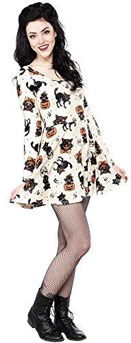 Sourpuss Black Cats Skater Dress XXL]()