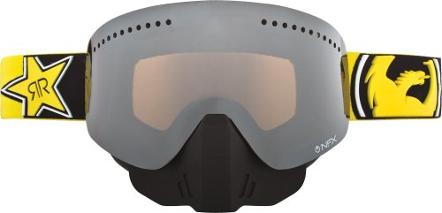 Dragon Alliance Rockstar Adult NFX Snowboard Snowmobile Goggles Eyewear - Ionized / One Size Fits All (Goggles Ionized Snowboard)