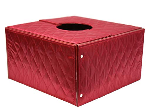 The Original Christmas Tree Box, Deluxe Red Quilted Fabric Covered - 20