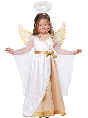 California Costumes Sweet Little Angel Costume, One Color, -