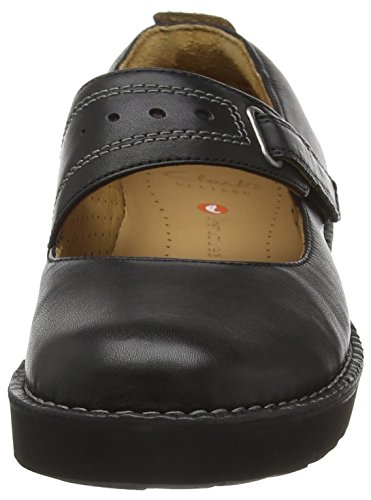 Womens Clarks Shoes Casual Mary Un Briarcrest Black Jane 7AawqEAx