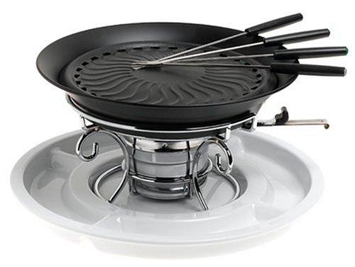 Amazon.com: Casa Moda Smokeless Tabletop Grill with Ceramic Tray ...