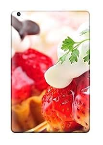 Fashionable Ipad Mini/mini 2 Case Cover For Strawberries Cakes Protective Case