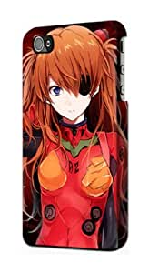 S1189 Neon Genesis Evangelion Asuka Langley Case Cover For IPHONE 4 4S