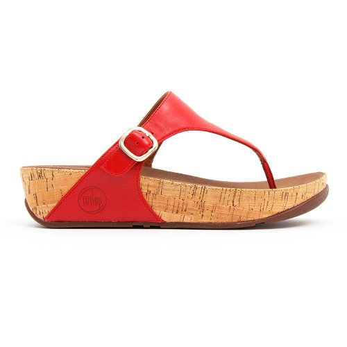 Fitflop Skinny TM patente, la mujer low-top FF Red