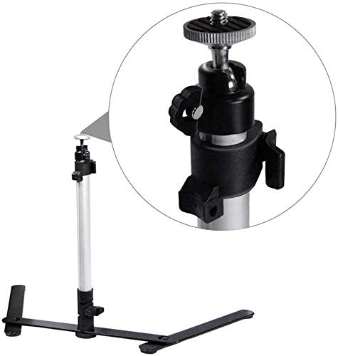 LimoStudio 17 Mini Tripod Table Top Travel Camera Camcorder Travel Tripod for Digital Cameras /& Camcorders AGG2934