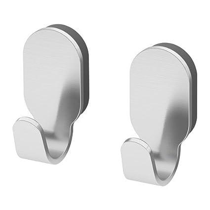 Ikea brogrund Toalla Gancho de acero inoxidable; 2 unidades)