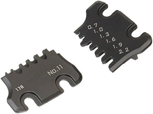 die Plate Set (Size S) for The ENGINEER Handy Crimp Tool. ENGINEER pad-11s