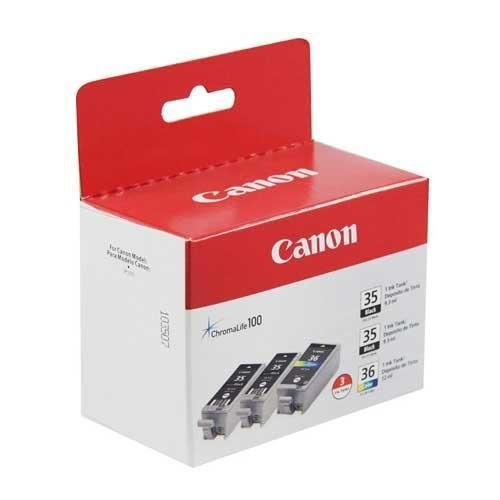 (Canon (PGI-35, CLI-36) iP100 Ink Value Pack (Includes 2 of 1509B002 & 1 of 15...)