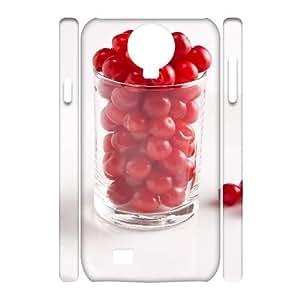 HB-P-CASE DIY Design Cherry Pattern Phone Case For Samsung Galaxy S4 i9500