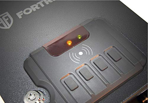 Fortress Small Personal Pistol Safe with RFID Lock