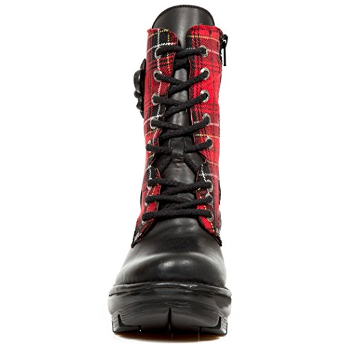 NEOTYRE07T S1 New Nr M Rock Boots NEWROCK Womens Red 4wwTqaHUB