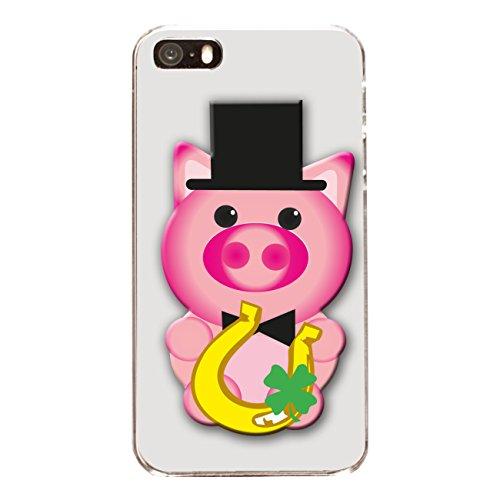 "Disagu Design Case Coque pour Apple iPhone 5s Housse etui coque pochette ""Glücksschwein No.2"""