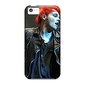 Protector Hard Phone Case For Iphone 5c (Afu18941fIXJ) Unique Design Attractive My Chemical Romance Skin