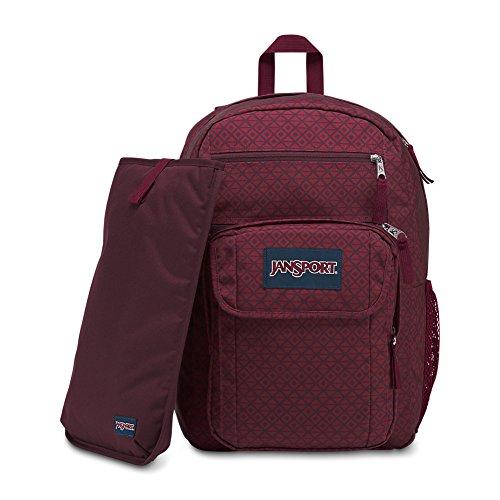 JanSport Digital Student Laptop Backpack - Geo Block Print (Print Backpack)