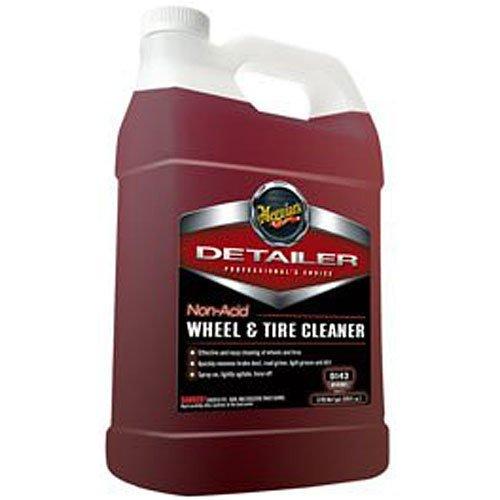 Meguiar's D14301 Non Acid Tire & Wheel Cleaner, 1 Gallon, 1 gallon, 1 Pack