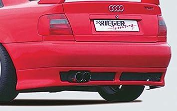 Rieger Trasero Enfoque Negro Mate Plano versión para Audi A4 (B5): 99 - 12.00: Amazon.es: Coche y moto