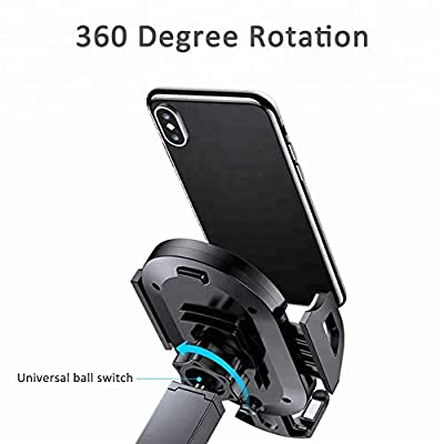 Car Phone Mount 3-in-1, Air Vent & Dashboard & Windscreen Cell Phone Holder for car, Works for iPhone Xr/Xs Max/Xs/X / 8/7 / 6 Plus, Galaxy Note 9 / S9 / S9+ / S8 / S8+, More: Beauty