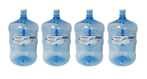 PACK OF 4 AMERICAN MAID WATER BOTTLES W/ HANDLE (5GL/18.9LT)