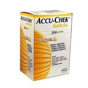 Accu Chek Softclix Lancet 200 Pieces