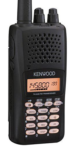 Kenwood Original TH-K20A 144 MHz FM Amateur Transceiver 5.5 Watts, RX: 136-174 MHz (Cellular Blocked)