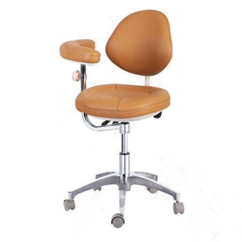 (APHRODITE Medical Dentist Nurse Adjustable Mobile Chair Doctor's Stool Microfiber)
