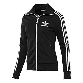 Adidas Europa TT HEART Damen Jacke 42 schwarz: