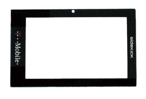 T-Mobile (Tmobile) Sharp SIDEKICK 2007 LX Original (OEM) Replacement Lens LCD Screen Glass Frame Part for Repair (Screen Lcd Lx Sidekick)
