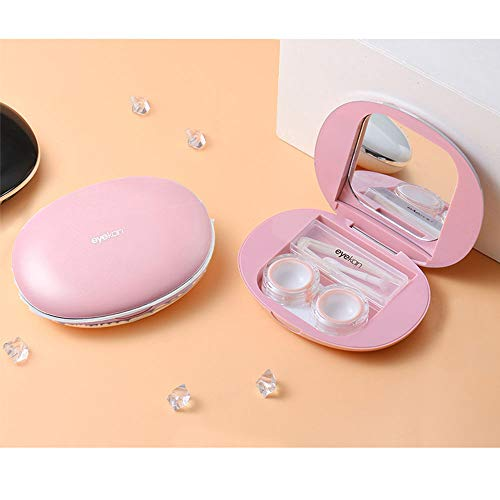 Contact Lens Case - Portable Contact Lens Kit for Travel & Home from Young Tag