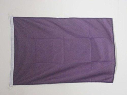 AZ FLAG Pavillon Nautique Unicolore Violet 45x30cm Drapeau de Bateau de Couleur Violette 30 x 45 cm
