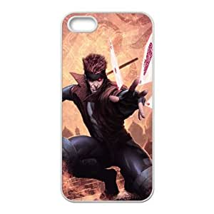 Gambit Comic iPhone 4 4s Cell Phone Case White 6KARIN-313048