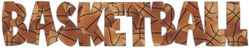 SCRAPBOOK 101 Mini Photogenix Laser Die-Cuts-Basketball
