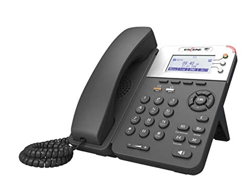"""Nexhi NXH-WS282-P Entry Level Premium Standard WiFi HD IP Phone with POE - Support Three-Way Conference - 34 Keys 2.4"""" 132x64-pixel Graphical LCD with Backlight."""