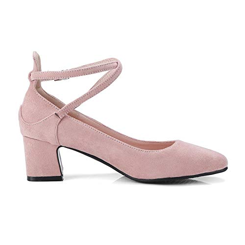 36 Rose 5 Femme Sandales Compensées SDC05794 Rose AdeeSu EU axqYOzwq