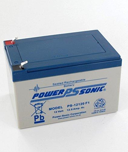 Power Sonic 12V 12AH I 12 VOLT 12 Amp Hour Sealed Rechargeable AGM/GEL Battery ROYALBATTERY PS12120 [12V 12AH]