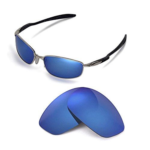 Walleva Replacement Lenses for Oakley Blender Sunglasses - Multiple Options Available(Ice Blue - - Sunglasses Blenders